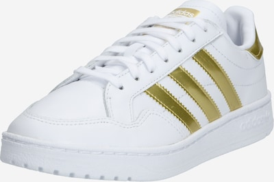 ADIDAS ORIGINALS Sneakers low in Gold / White, Item view