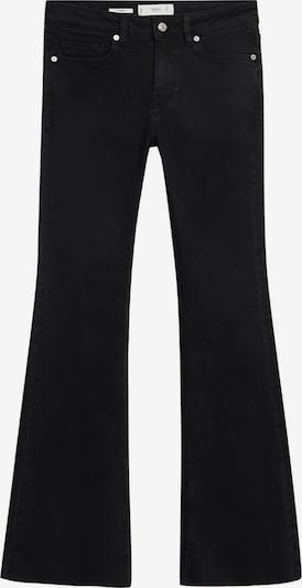 MANGO Jeans 'Flare' in black denim, Produktansicht