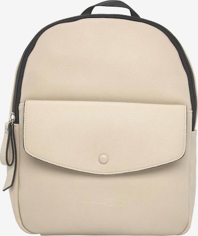 TOM TAILOR DENIM Rucksack 'MAIA' in beige / schwarz, Produktansicht