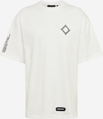 Magdeburg - Los Angeles Shirt 'PANTHER' in de kleur Zwart / Wit, Productweergave
