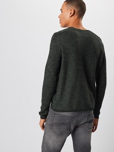 Megztinis iš Only & Sons , spalva - tamsiai žalia: Vaizdas iš galinės pusės