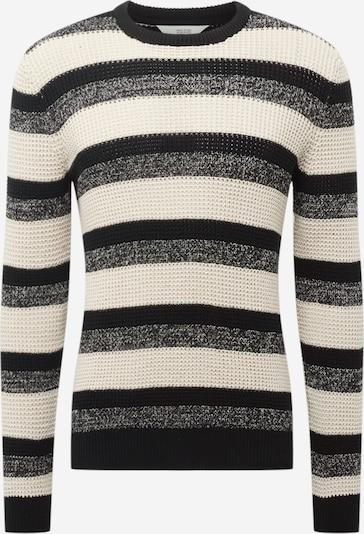 !Solid Pullover in beige / graumeliert / schwarz, Produktansicht