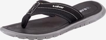 Séparateur d'orteils s.Oliver en noir