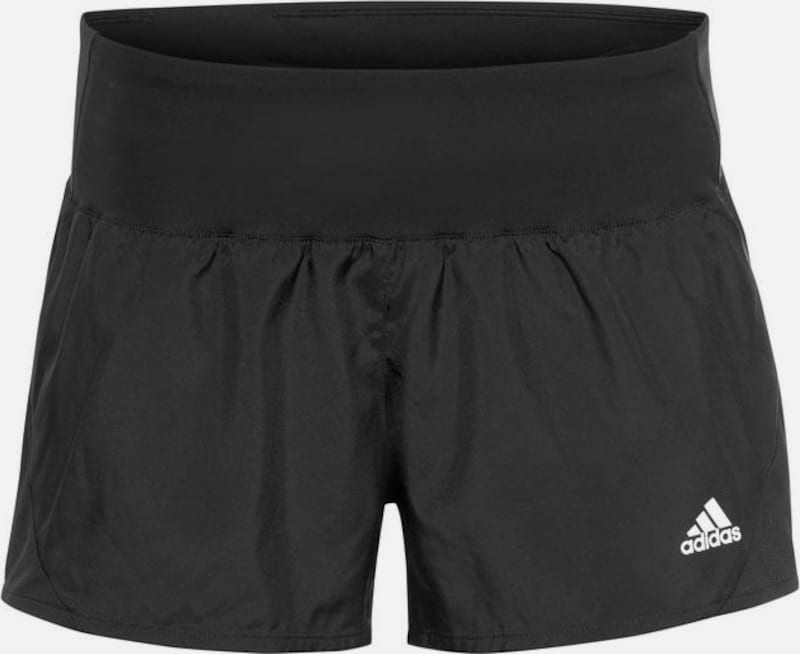 ADIDAS PERFORMANCE Laufshorts 'RUN IT' in schwarz, Produktansicht