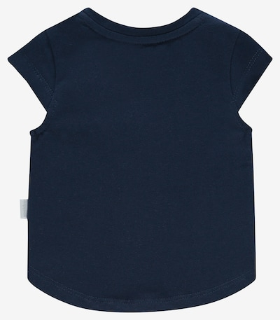 Noppies T-Shirt in nachtblau / pink / weiß: Frontalansicht