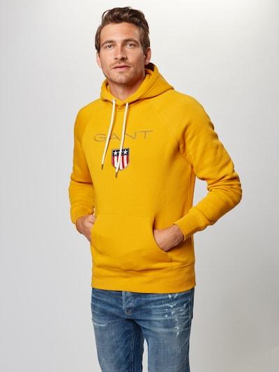 GANT Sweatshirt in goldgelb: Frontalansicht
