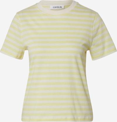EDITED Shirt 'Leila' in de kleur Crème / Geel / Wit, Productweergave