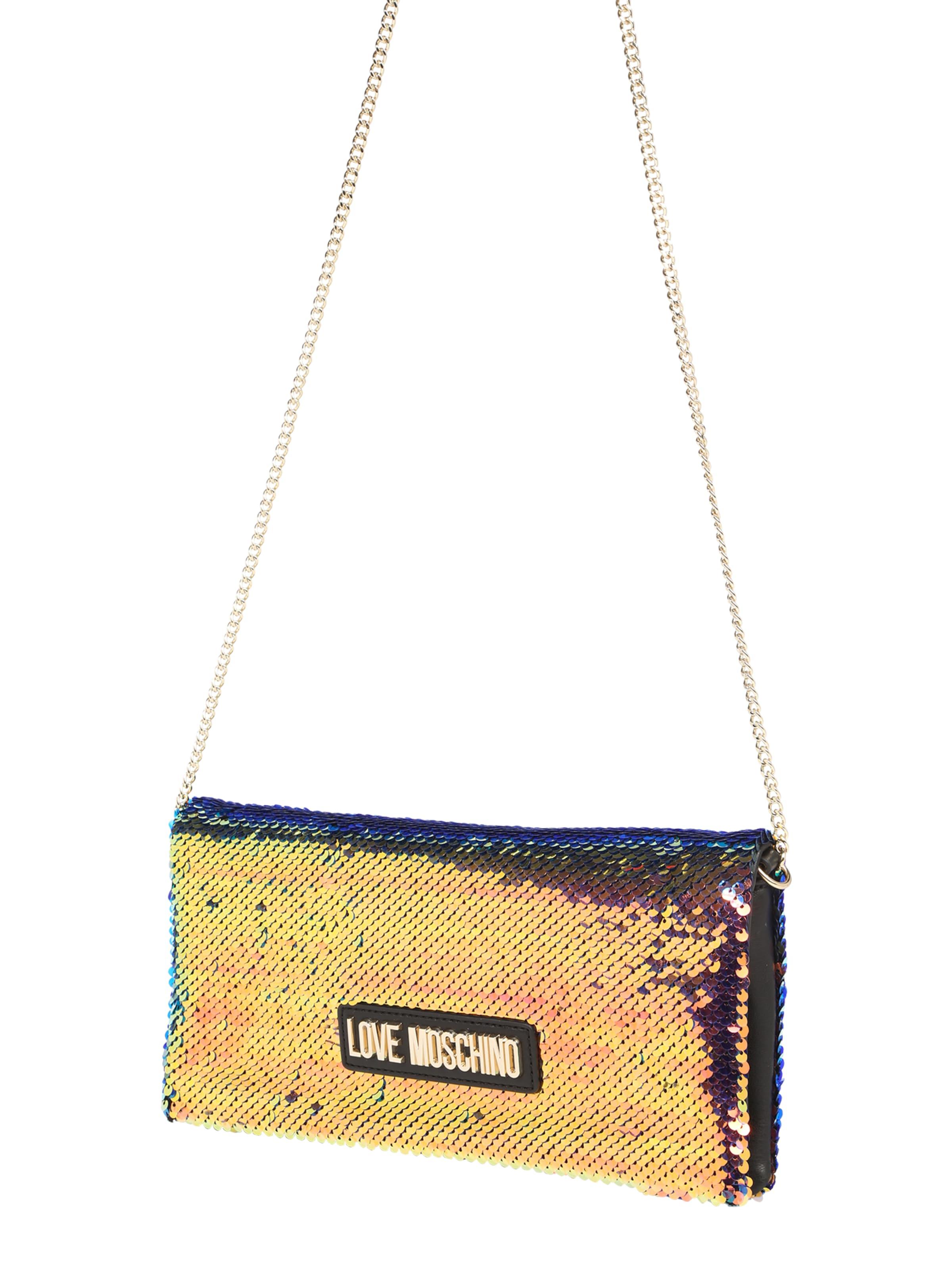 Sac À Bandoulière 'borsa Multicolor' Couleurs Love De Sequins Moschino Mélange En SzpUVM