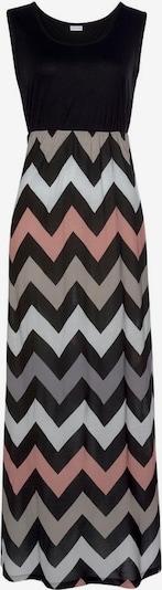 LASCANA Kleid in grau / hellpink / schwarz / weiß, Produktansicht