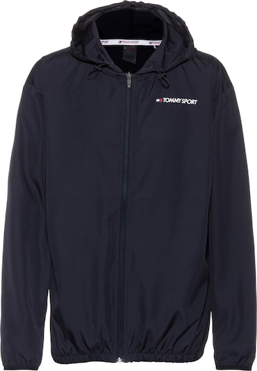 Tommy Sport Windbreaker in schwarz, Produktansicht