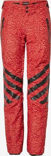 Pantaloni sport CHIEMSEE pe roșu / negru, Vizualizare produs