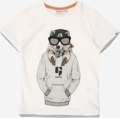 GARCIA T-Krekls pieejami pelēks / grafīta / balts, Preces skats