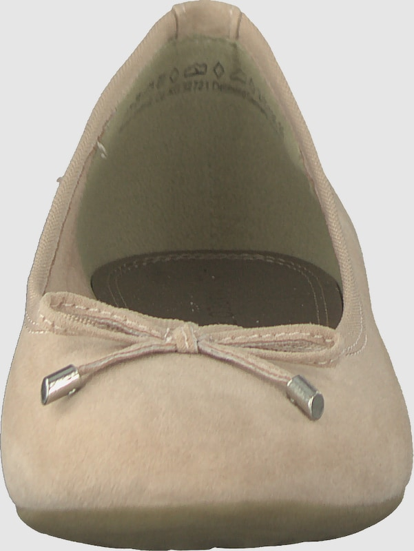 MARCO TOZZI | Ballerina Ballerina | in Velours-Optik dd8552