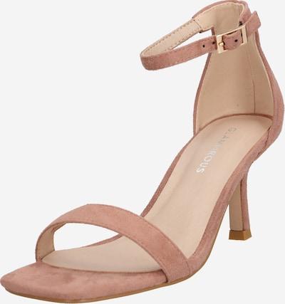 GLAMOROUS Sandali s paščki | rosé barva, Prikaz izdelka