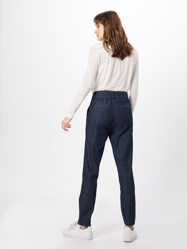 OPUS Jeans 'Elgi ST' in blue denim: Rückansicht