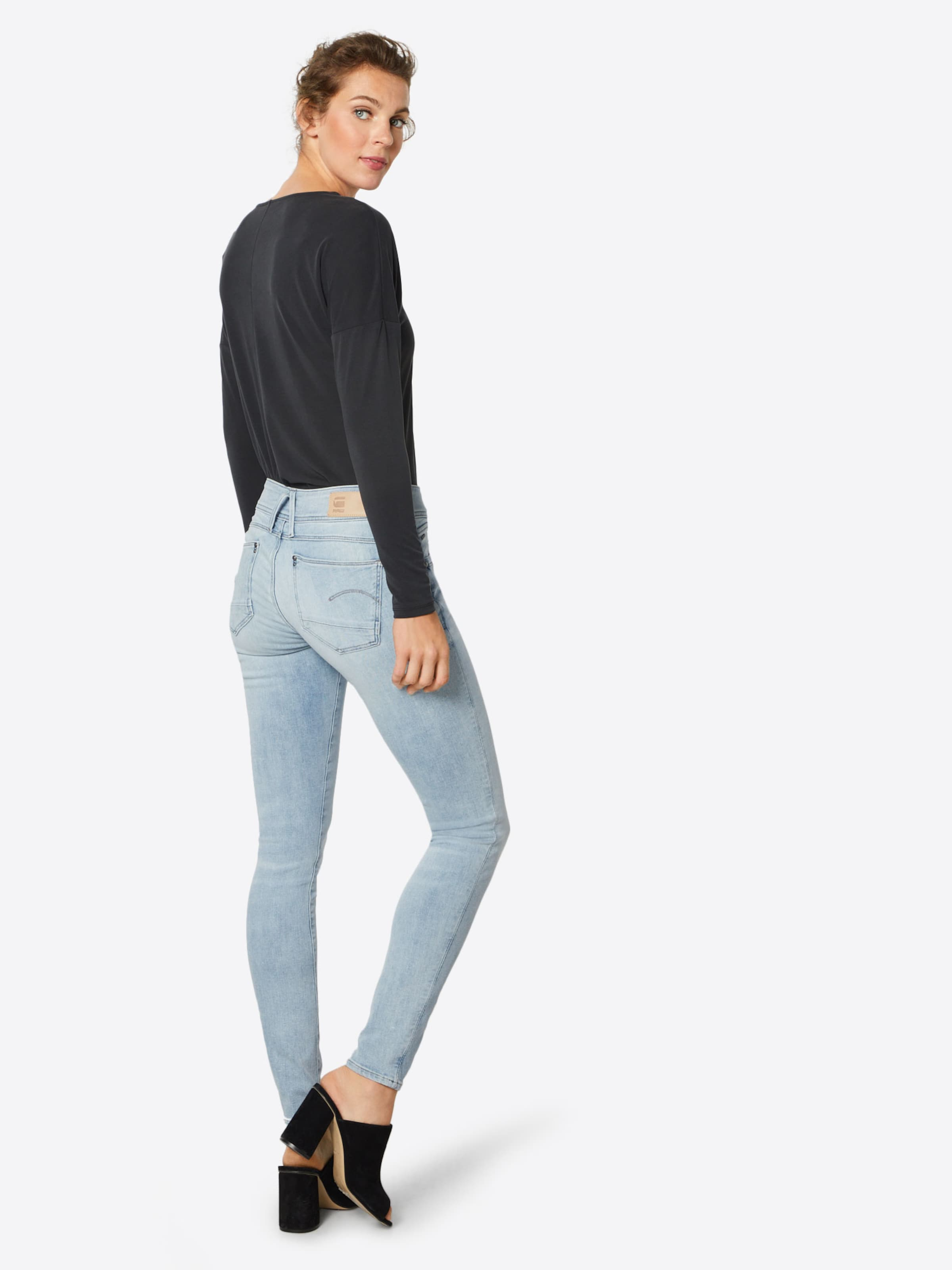 'lynn' G Raw Blue star Denim Jeans In NOwPn0Z8kX