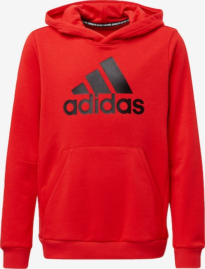 ADIDAS PERFORMANCE Sportsweatshirt in rot / schwarz, Produktansicht