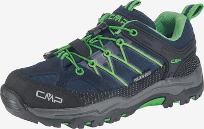 CMP Outdoorschuhe 'Rigel' in nachtblau / grau / kiwi / schwarz, Produktansicht