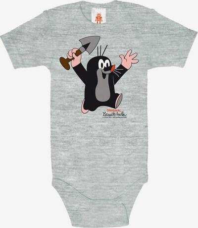 LOGOSHIRT Babybody mit Print Der kleine Maulwurf in grau, Produktansicht
