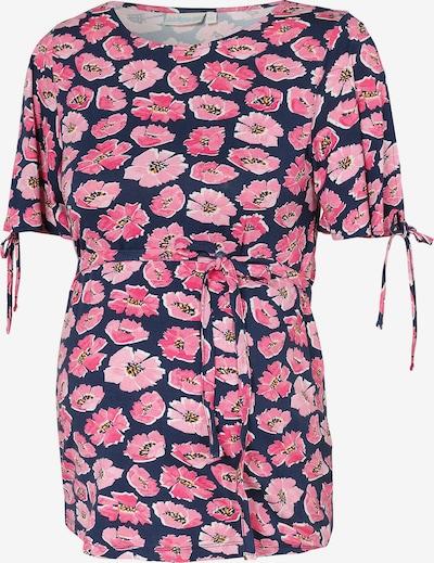 JoJo Maman Bébé Shirt in navy / rosa / pitaya, Produktansicht