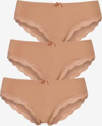 LASCANA Slip in Braun
