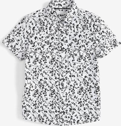 NEXT Kurzarmhemd in schwarz, Produktansicht