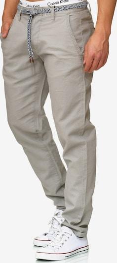 INDICODE JEANS Pantalon 'Haverfiel' en gris fumé, Vue avec produit