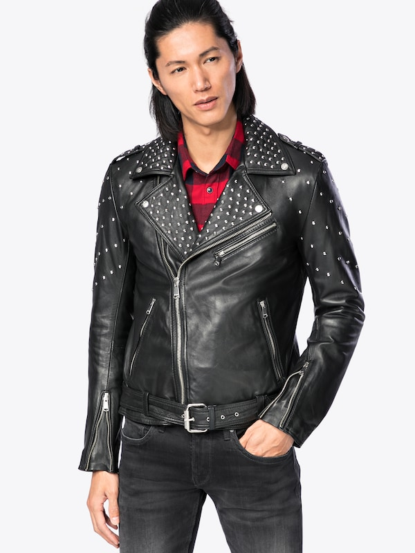 Lader Lederjacke rocky First