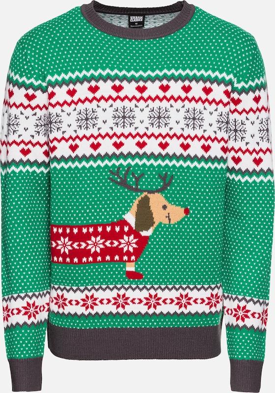 Classics Christmas' Urban Pull over En Dog De VertMélange Couleurs 'sausage rdBeoCxW