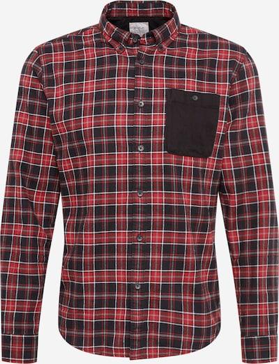 EDC BY ESPRIT Košile 'F flannel check' - červená / černá, Produkt