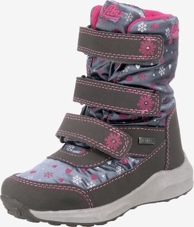 LICO Klettstiefel 'Samia V' in grau / pink, Produktansicht