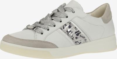 ARA Sneaker in hellbeige / weiß: Frontalansicht