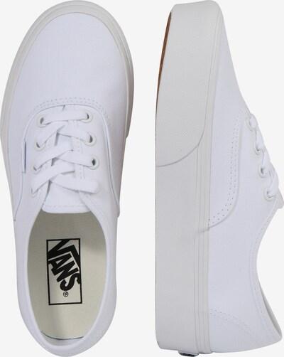 VANS Sneaker 'Authentic' in weiß: Seitenansicht