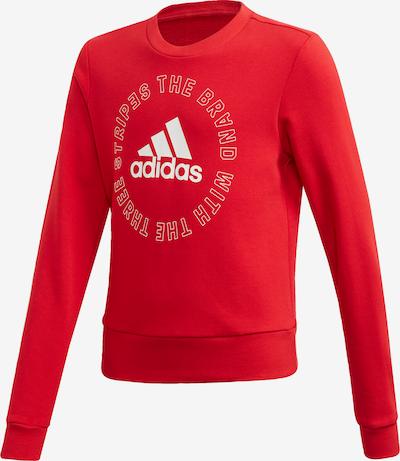 ADIDAS PERFORMANCE Sweatshirt 'Bold' in rot / weiß, Produktansicht
