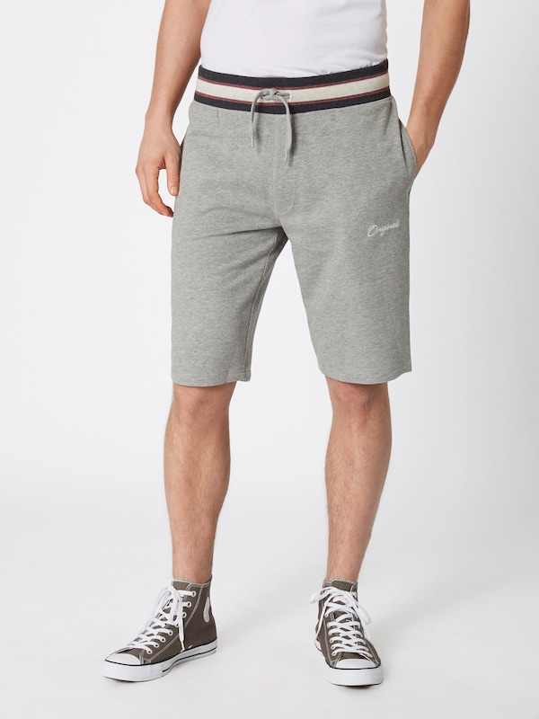 Clair 'jorjared En Gris Jones Sweat Jackamp; Pantalon Shorts' 0k8OwnPX