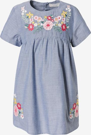 Sense Organics Kleid 'Chana' in taubenblau / mischfarben, Produktansicht