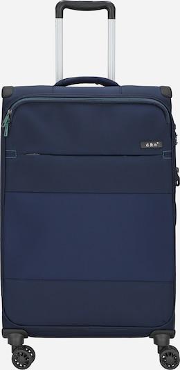 D&N Trolley 'Travel Line 9004' in dunkelblau, Produktansicht