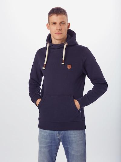 JACK & JONES Sweatshirt 'TOM' in de kleur Navy: Vooraanzicht