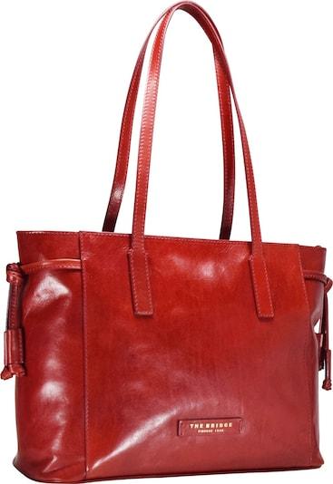 The Bridge Passpartout Donna Shopper Tasche Leder 36 cm in rot, Produktansicht
