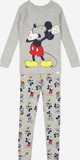 GAP Pyjama 'DIS TB YAWNING MCKY LJ' in hellgrau, Produktansicht