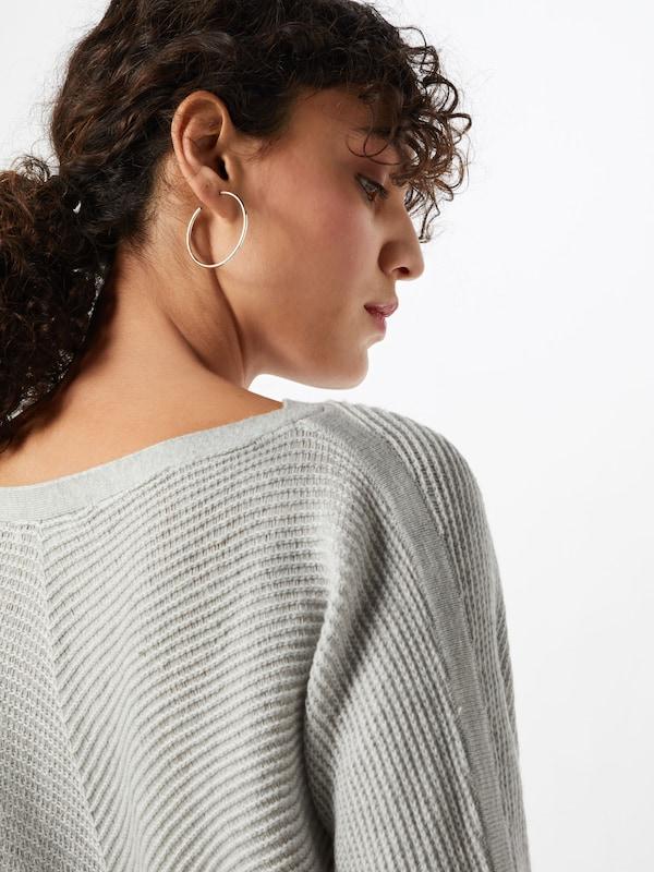 OPUS Pullover Pullover Pullover 'Penelopa' in silbergrau  Großer Rabatt b3a473