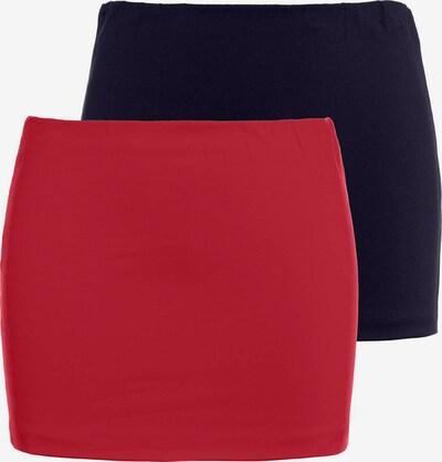 Tricou Ulla Popken pe navy / roșu, Vizualizare produs