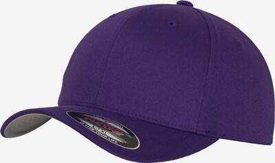 Flexfit Cap in dunkellila, Produktansicht