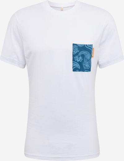 Degree Shirt 'Paislip' in weiß, Produktansicht