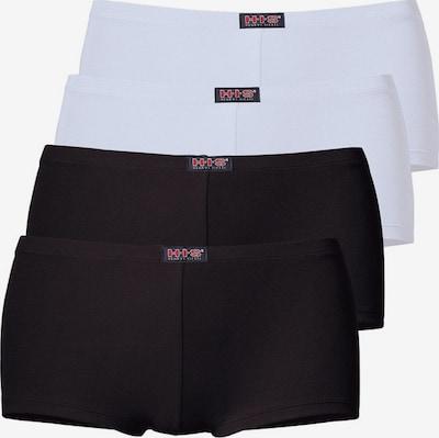 H.I.S Panty in schwarz / weiß, Produktansicht