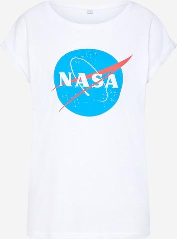 Merchcode Shirt 'Nasa Insignia' in White