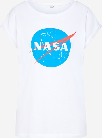 Merchcode Tričko 'Nasa Insignia' - modrá / červená / bílá, Produkt