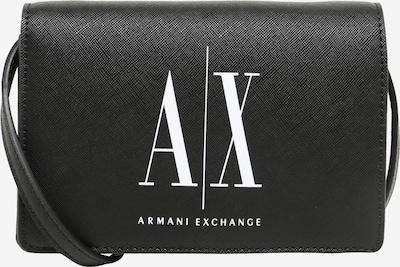ARMANI EXCHANGE Taška cez rameno - čierna / biela, Produkt