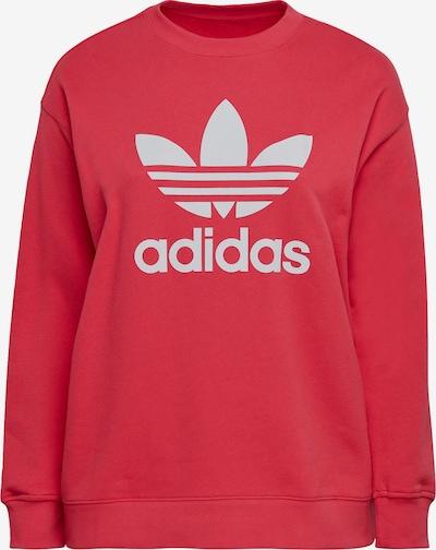 Bluză de molton ADIDAS ORIGINALS pe roșu / alb, Vizualizare produs
