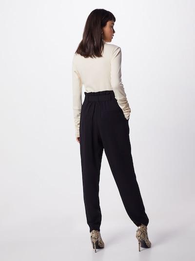 BRUUNS BAZAAR Spodnie 'Ember Davina' w kolorze czarnym: Widok od tyłu